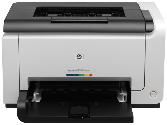 HP Color LaserJet CP1025 CF346A, A4, цветной, 16/4 стр. в мин., до 15000 стр. в мес., 600dpi, лоток подачи бумаги 150 листов, 8MB, 266Mhz, USB 2.0