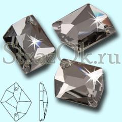 Купить пришивные стразы Cosmic Black Diamond черные серые