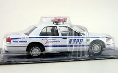 Ford Crown Victoria NYPD USA 1:43 DeAgostini World's Police Car #7