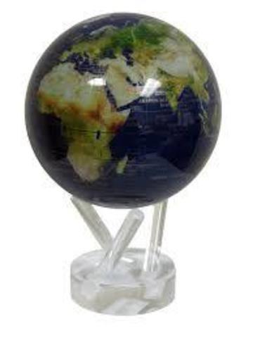 Глобус MOVA GLOBE Вид из космоса, синий (16,5см)123