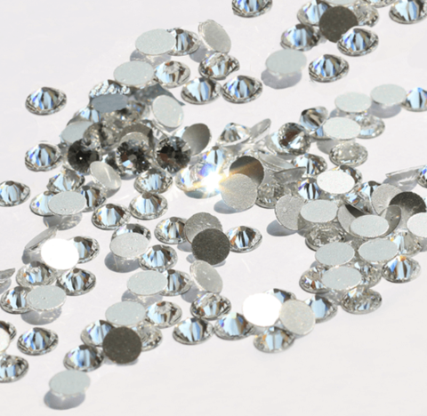 Стразы SS5 серебро 100 шт
