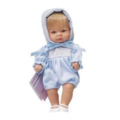 ASI Кукла-пупсик в голубом, 20 см (114401)
