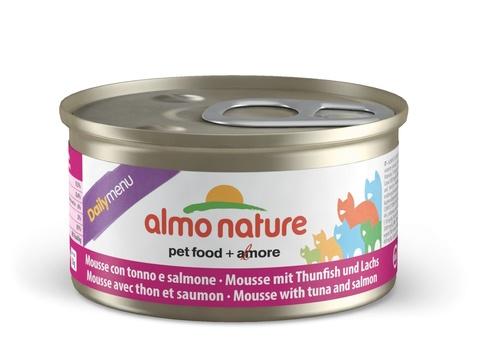 Консервы (банка) Almo Nature Daily Menu mousse Tuna and Salmon