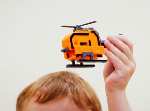 2 Трансбот Вертолет (цифра два)