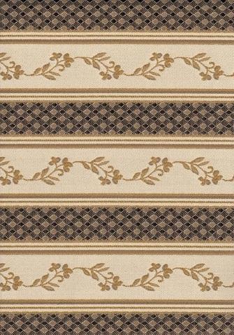 Стул Palermo с мягким сиденьем коричневый в рыжину