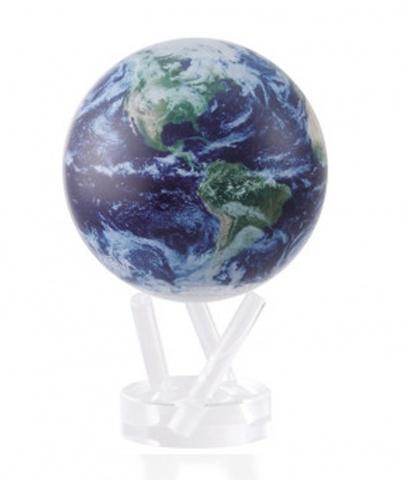 Глобус MOVA GLOBE Планета Земля в облаках (12см)123