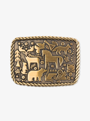 Forest fairytale buckle color old gold
