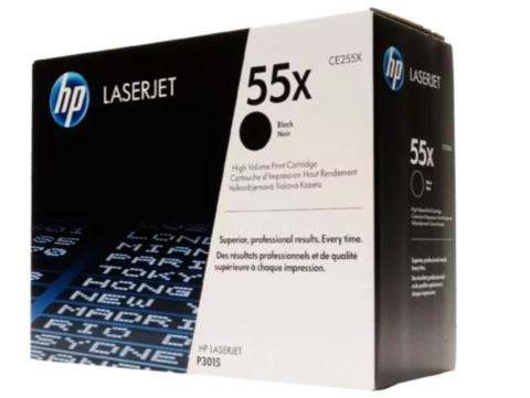 Картридж HP CE255X 55X черный