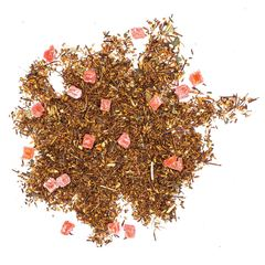 """Ройбуш земляника со сливками"" 100гр, чайный напиток на основе ройбоса"