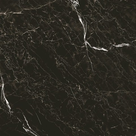 Керамогранит GRASARO Classic Marble 400x400 черный глянцевый G-272/G