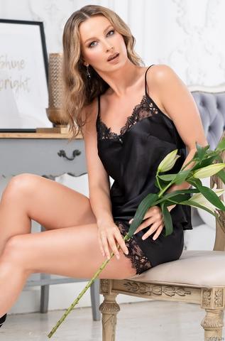 Пижама женская Mia-Amore EDITA ЭДИТА 3674 черный