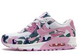 Кроссовки Женские Nike Air Max 90 Essential White Pink Camo