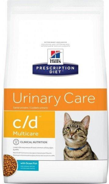 Сухой корм Ветеринарный корм для кошек Hill`s Prescription Diet c/d Multicare, для профилактики МКБ, с океанической рыбой цдрыба.jpg