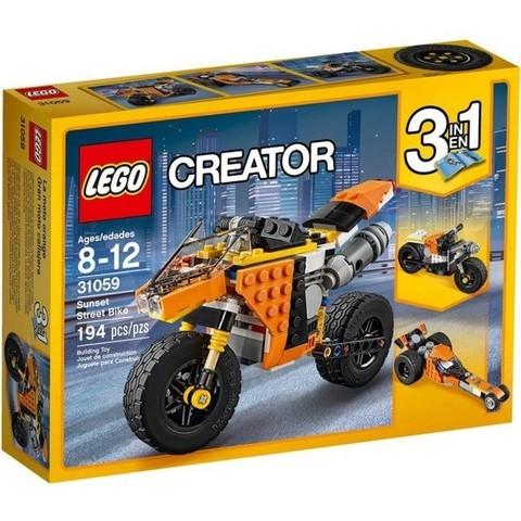 LEGO Creator: Оранжевый мотоцикл 31059 — Sunset Street Bike — Лего Креатор Создатель