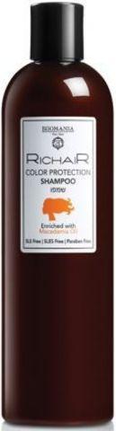 Шампунь «Защита цвета» с маслом макадами, Richair Egomania,400 мл.