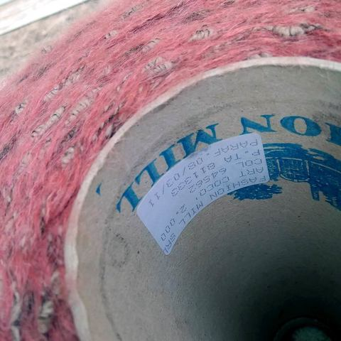 Фасонный твид FASHION MILL COCO 200 пыльно-розовый