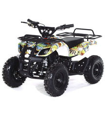 Детский бензиновый квадроцикл MOTAX ATV Х-16 Мини-Гризли с электростартером и родительским пультом