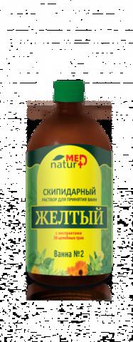 Желтый скипидарный раствор с экстрактами 38 трав Naturmed 0,5 л НИИ Натуротерапии