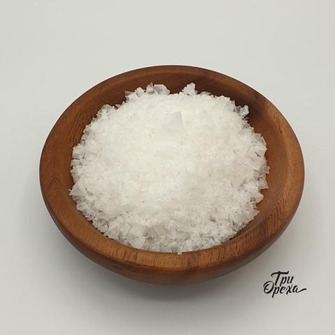 Соль морская пищевая цветок пирамидки, 400 гр