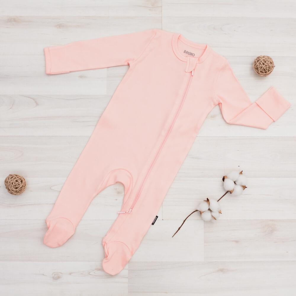 Комбинезон на молнии «Soft Pink»