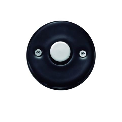 Выключатель/кнопка Do Выключатель-кнопка 10 А, 250/24 В. Цвет Чёрный/хром. Fontini DO(Фонтини До). 33310012