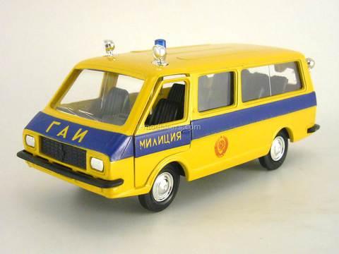 RAF-2203 GAI Police Agat Mossar Tantal 1:43