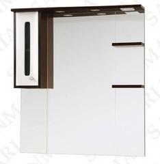 Зеркало-шкаф SanMaria Париж-90 белый, левый
