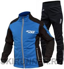 Утеплённый лыжный костюм RAY RACE WS Blue-black 2020 мужской