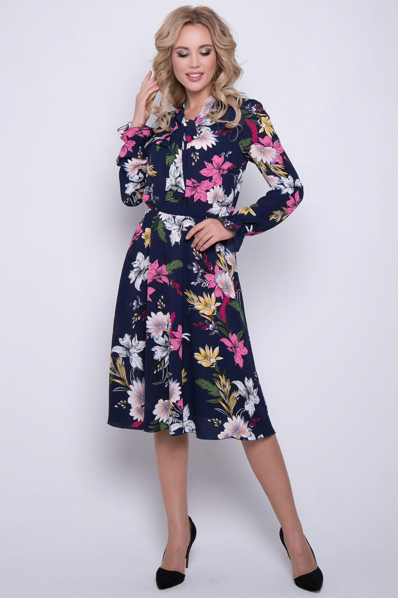 """Платье """"Любовный роман"""" (цветы)"""