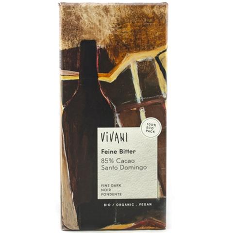 Vivani, Шоколад темный, 85% какао. Vivani, 100 г