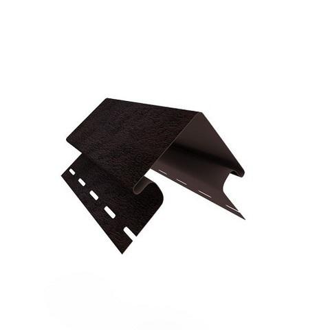 Ю пласт угол наружный Стоун Хаус кирпич коричневый 3 м