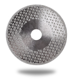 Алмазный диск для резки и шлифовки мрамора Messer M/F. Диаметр 125 мм. (без фланца)