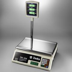 Весы электронные торговые настольные Delta до 35 кг ТВН-35А