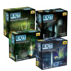 Набор EXIT-КВЕСТ (средний уровень)