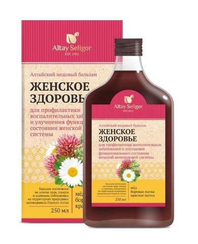 Алтайский медовый бальзам Женское здоровье фото1