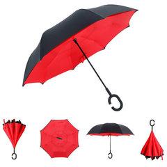 Зонт наоборот (зонт обратного сложения)