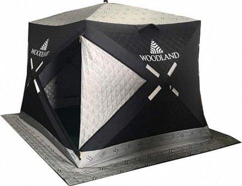 Зимняя палатка куб Woodland Ultra Comfort, трехслойная
