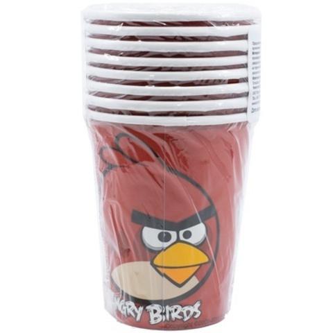 Стакан Angry Birds 8шт