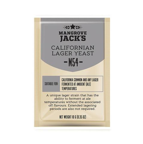 Дрожжи Mangrove Jack's Californian Lager M54, 10 гр