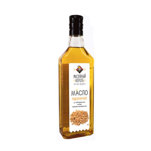 Подсолнечное масло из обжаренных семян (жареное)