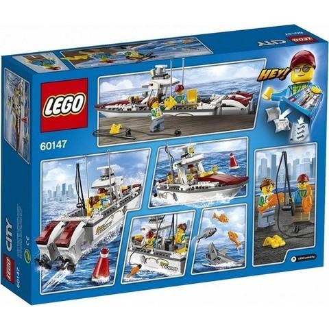 LEGO City: Рыболовный катер 60147 — Fishing Boat — Лего Сити Город