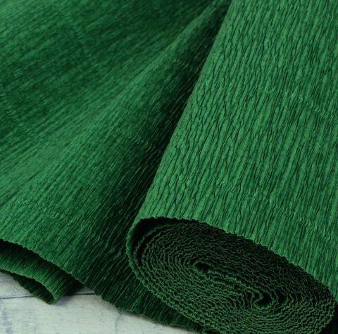 Бумага гофрированная, цвет 591 травяной, 180г, 50х250 см, Cartotecnica Rossi (Италия)