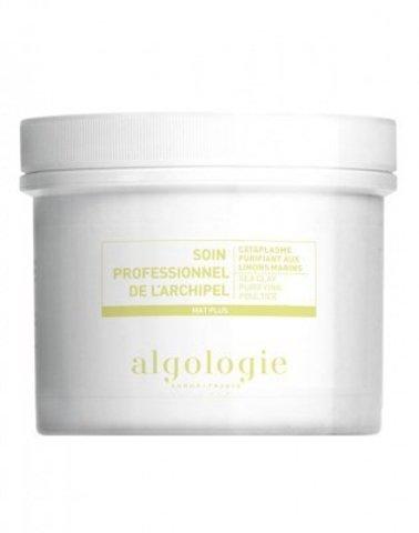 Очищающая маска-компресс с белой глиной для жирной и смешанной кожи Algologie, 100 г