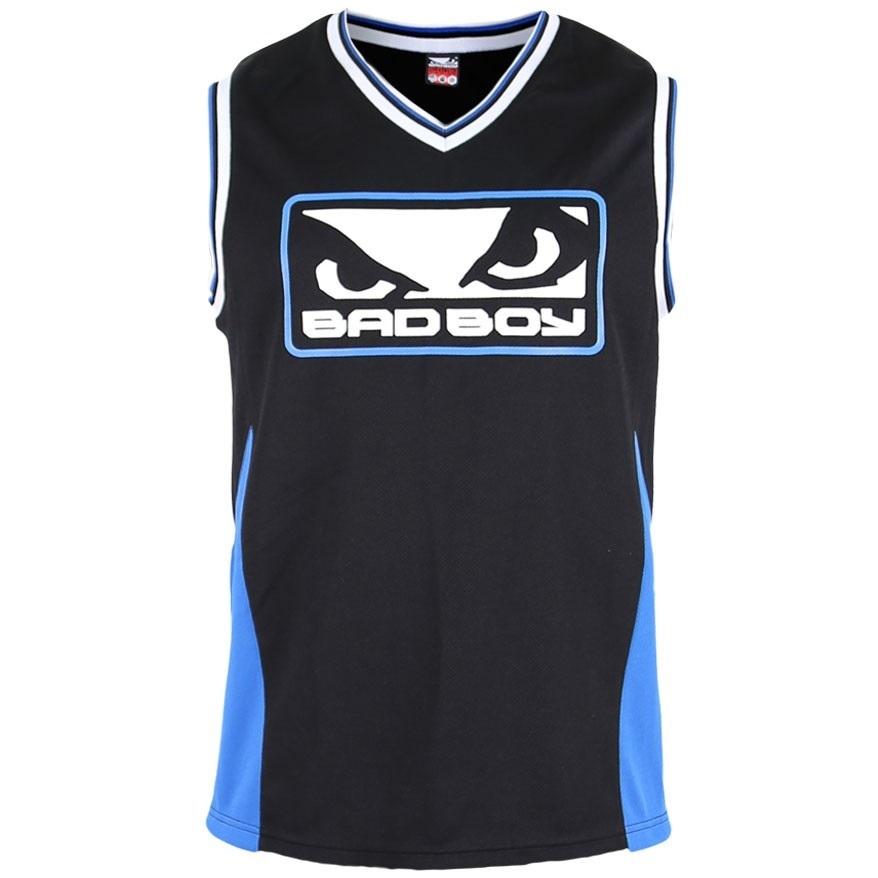 Майки Майка Bad Boy Icon Jersey - Black/Blue 1.jpg