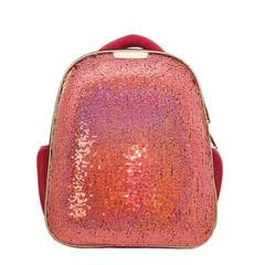Ранец ортопедический №1 School Sparkle Miracle Pink (пайетки двусторонние)
