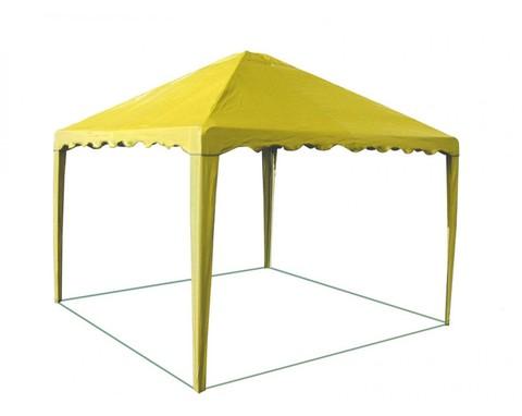 Шатер-беседка Митек 2,5 х 2,5 желтая