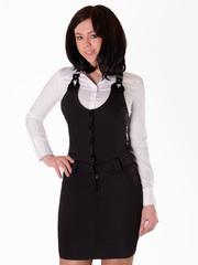 01-53047-1 сарафан женский, черный