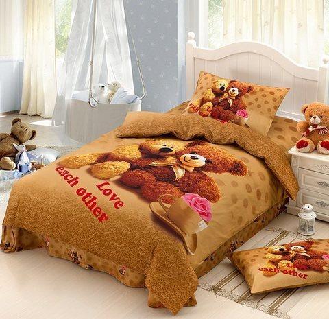 Комплект постельного белья Любимый мишка
