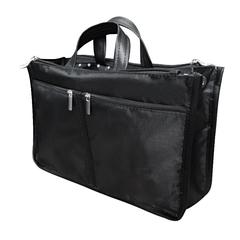 органайзер для сумки sofia 28х16х10 см, 8 карманов, черный