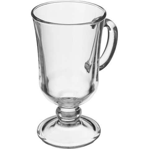 Кружка ОСЗ Глинтвейн стеклянная прозрачная 200 мл